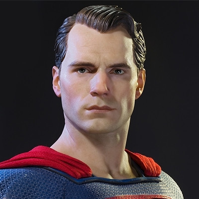 HDミュージアムマスターライン バットマンVSスーパーマン ジャスティスの誕生 スーパーマン