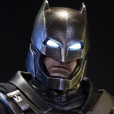 HDミュージアムマスターライン バットマンVSスーパーマン ジャスティスの誕生 アーマードバットマン