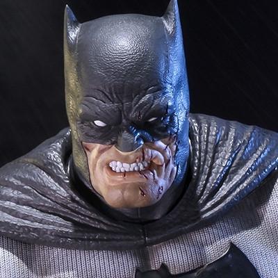 ミュージアムマスターライン バットマン:アーカム・シティ ダークナイト・リターンズ バットマン