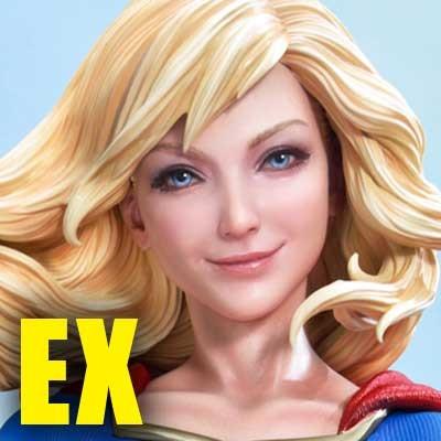 ミュージアムマスターライン スーパーマン スーパーガール EX版
