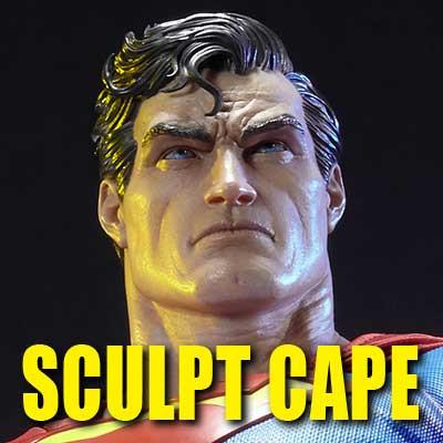 ミュージアムマスターライン バットマン:ハッシュ スーパーマン (マントキャスト版)