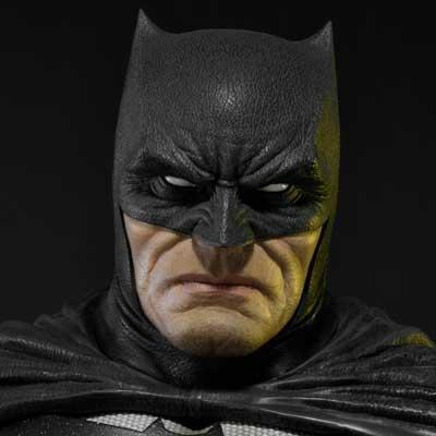 ミュージアムマスターライン バットマン:ダークナイトⅢマスターレース バットマン ブラック版