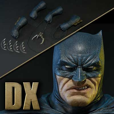 ミュージアムマスターライン バットマン:ダークナイトⅢマスターレース バットマン DX版