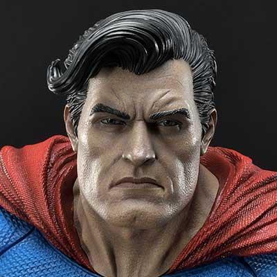 ミュージアムマスターライン バットマン:ダークナイト ・リターンズ スーパーマン