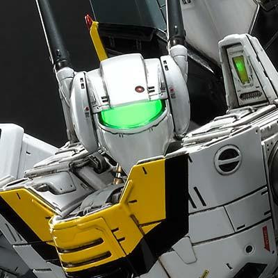 Premium Masterline Robotech VF-1S Skull Leader Battloid Mode