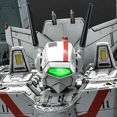 Premium Masterline Robotech VF-1J Officer's Veritech Battloid Mode