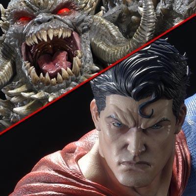アルティメットミュージアムマスターライン スーパーマン スーパーマンVSドゥームスデイ