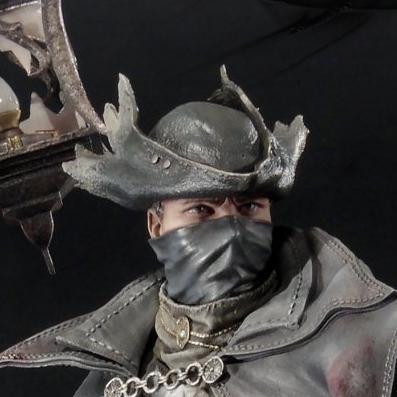 アルティメットプレミアムマスターライン Bloodborne 狩人(ハンター)