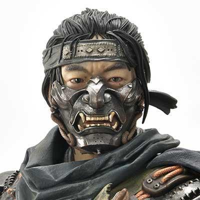 """アルティメットプレミアムマスターライン ゴースト・オブ・ツシマ 境井 仁 """"冥人"""" 冥人の鎧"""